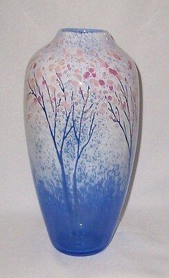 Signed Art Glass Vase (Signed Daniel Scogna)