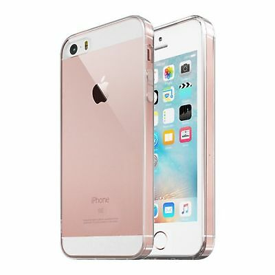 For iPhone SE Case Crystal Clear Rubber Shockproof cover Protective iPhone 5 5s