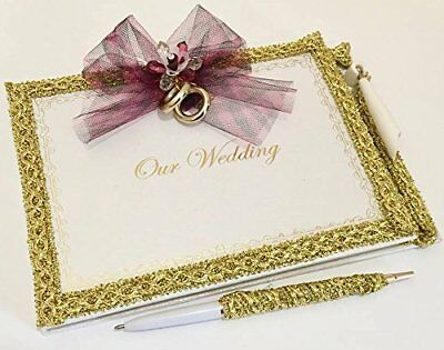 Our Wedding Signature Guest Book with Pen Set Gift Keepsake