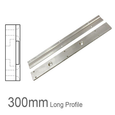 Two Part Magnetic Linear Encoder Tape Support Profile - 300mm Length