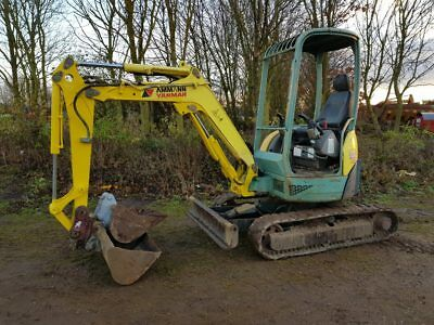 yanmar 2.5 ton digger 2 buckets tractor we deliver finance available Part Ex