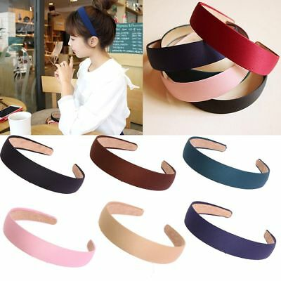 Girls Headwear Headband Women Hair Band Plastic Cloth Hair Hoop