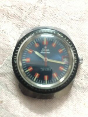 Vitage STOWA SEATIME AUTOMATIC 25 Rubies Mov.PUW 1561 Working 35mm Men Watch