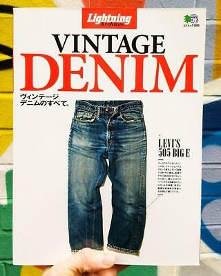 Vintage Denim by Lightning Archives - Japanese Edition Book Magazine