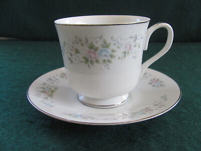 Carlion Corsage #481 Fine China Cup & Saucer(S) (3)