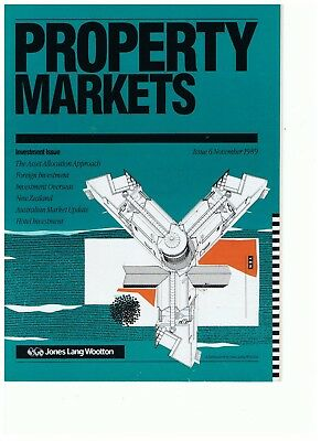 Property Markets - Jones Lang Wootton - Issue 6 November 1989