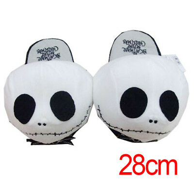New The Nightmare Before Christmas Jack Skellington Soft Plush Slippers Hot gift