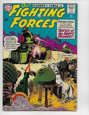 Our Fighting Forces 82 - Vg- 3.5 - Gunner - Sarge - Pooch (1964)