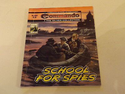 Commando War Comic Number 4802,2015 Issue,good For Age,03 Years Old,very Rare.