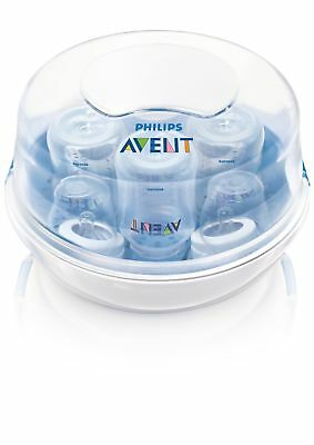 Philips AVENT Microwave Steam Sterilizer Baby Easy Ultra Fast Bottle Compact New