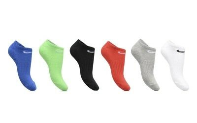 NWT | NIKE Boys' Performance No-Show Socks | Size 3Y - 5Y