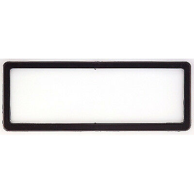 6 Figure Number Plate Frame Black Plastic Altrex U6PS