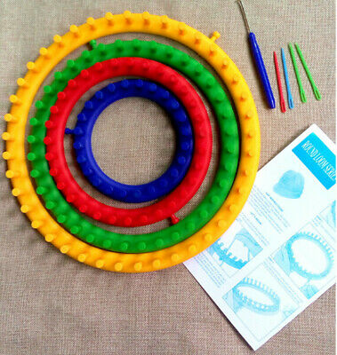 Knitting Circular Round Loom Accessories For making Baby Blankets Socks Hat