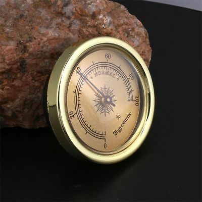 Humidity Measuring Tool Cigar Hygrometer Thermometer Monitor Meter Gauge