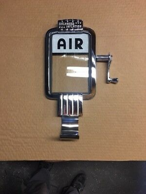 Eco Air Meter Chrome Face Plate kit with Crank Handle