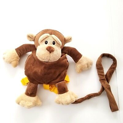 Animal Planet Monkey Toddler Safety Harness Backpack w/ Leash
