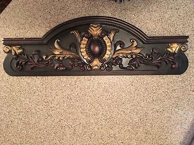 Vintage Header Door Window Pediment Styrofoam