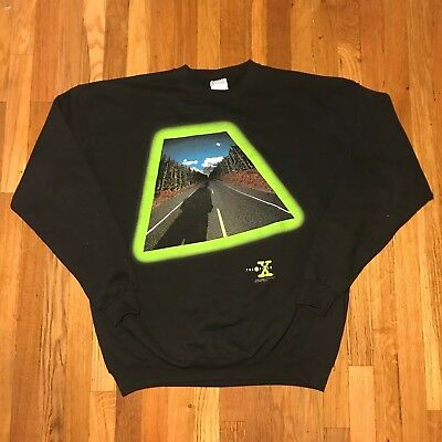 1994 VINTAGE THE X FILES PULLOVER SWEATSHIRT XL Vtg90 DUCHOVNY