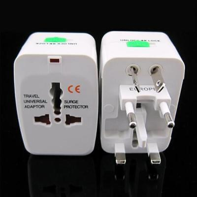 Universal Travel AC Power Charger Adapter Plug Converter 2 USB Port Pro UKGRL