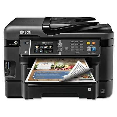 Epson WorkForce WF-3640 All-in One Printer/Copier/Scanner/Fax   NO SALES TAX