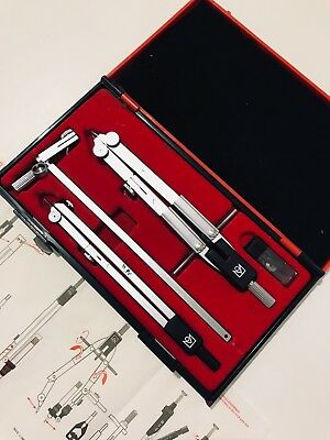 Original 'vintage' KIN Drawing Sets Compasses made in CZECH REPUBLIC