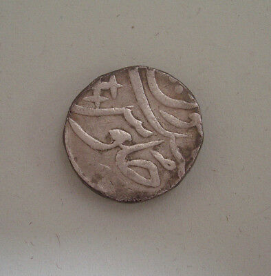 INDIA, BHARUCH STATE (BROACH),  SILVER RUPEE, 20mm, 11.3gr.