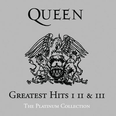 Queen-Greatest Hits I, II & III/The Platinum Collection(3CD) 2011 Remastered New