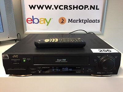 JVC HR-S7611 Super VHS ET Digital TBC/DNR + Remote