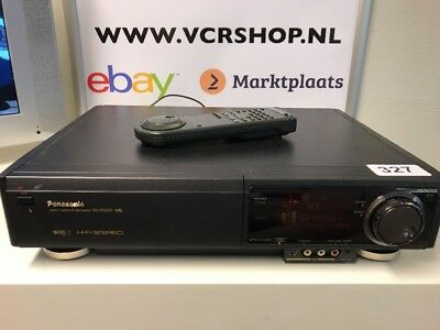 Panasonic NV-FS200 S-VHS Super 4-Head VHS Incl Remote TBC