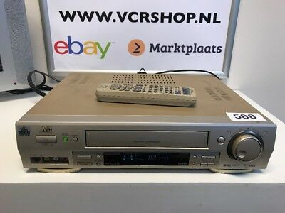 JVC HR-S7600 Super VHS ET Digital TBC/DNR + Remote