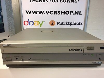 Sony LDP-3600D LASERMAX Laservision / Laserdisc PAL/NTSC Good Condition