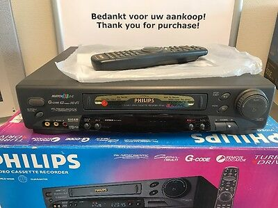 Philips VR756 Super Multi PAL Mesecam NTSC Turbo Drive BOXED multi Language