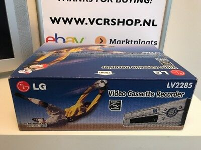 LG LV2285 Videorecorder (NEW) BOXED! Never Used!!!