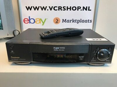 Panasonic NV-HS950 Super VHS + Remote TBC