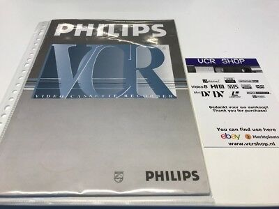 Manual: Philips VR969/02 - NL