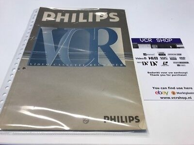 Manual: Philips VR969 - NL