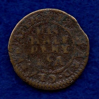 Derbyshire, Chesterfield, 17th Century Halfpenny Token (Ref. c4132)