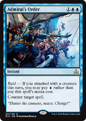 MTG - Rivals Of Ixalan (RIX) Blue Cards Numbers 031 to 061