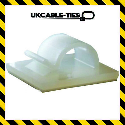 Self-Adhesive Nylon Clips Fasteners for Wire, Cable, Conduit