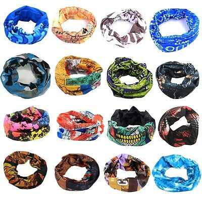 16 Colors Tube Scarf Bandana Head Face Mask Neck Gaiter Snood Headwear Bea Zccj