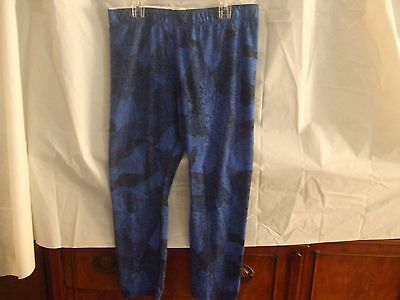Nike Women's Sz Lrg-Blue/Blk Leggings-Running/Training-NWT-L@@K