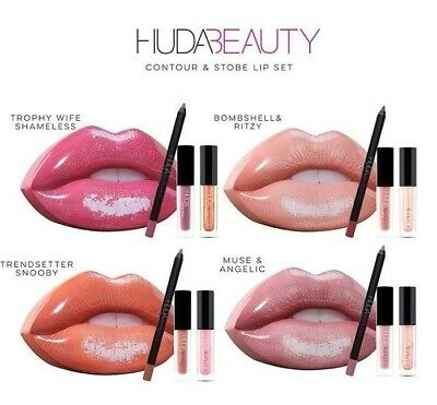 HUDA BEAUTY LIP SETS New Arrivals Huda beauty 2018