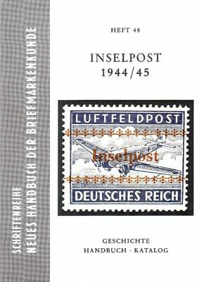 Inselpost 1944/45 Duits Rijk German Reich Deutsches veldpost Feldpost field post