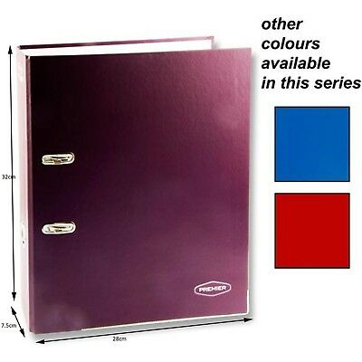 A4 Large Lever Arch Files Folders Stationery Metal Document Storage 75mm