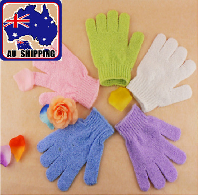 2pc Bath Scrub Glove - Exfoliating Mitt Bath Shower Gloves