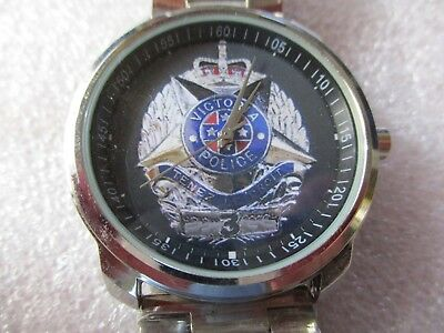 NEW Victoria Police LOGO Watch, LIMITED EDITION!!! Custom Made!!!
