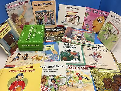 Scholastic Fluency Library - 60 Books And Audiocassettes