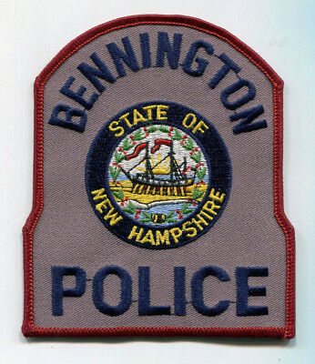 Bennington New Hampshire Police Patch // FREE US Shipping!