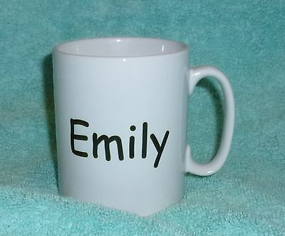 Your own  personal mug any words you want .  NEW  Great Gift