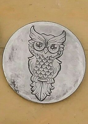 #58-1/10 owl limited run on no date buffalo  Engraved coin hand carved by Wes B.